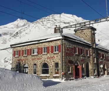 stagione invernale Alp Grüm