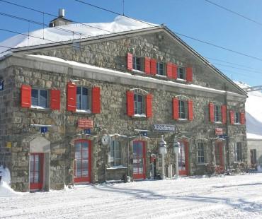 Stagione invernale Ospizio Bernina