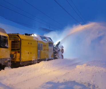 65 cm di nuova neve all'Alp Grüm
